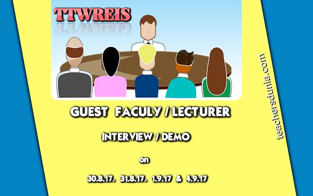 TTWREIS-Guest-faculty-Lecturer-Interview-Demo-Dates-Instructions 2017-18