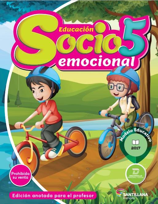 Educación Socioemocional 5- quinto grado - primaria - nuevo modelo educativo