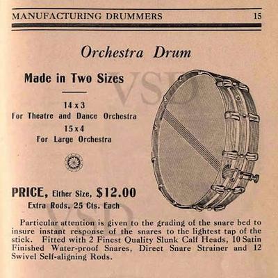 1907 Dodge Drums Catalog