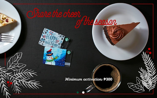 Starbucks Holiday Cards