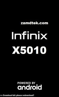 Infinix Smart X5010 download failed, please reload
