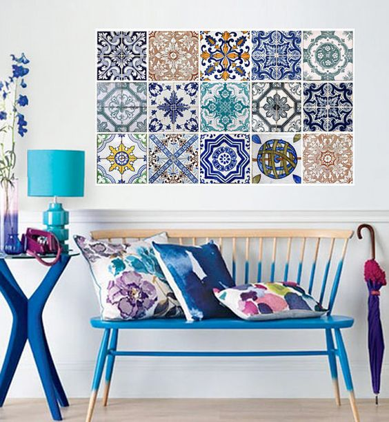 "Deco-friendly | ""Azulejos"" adhesivos"