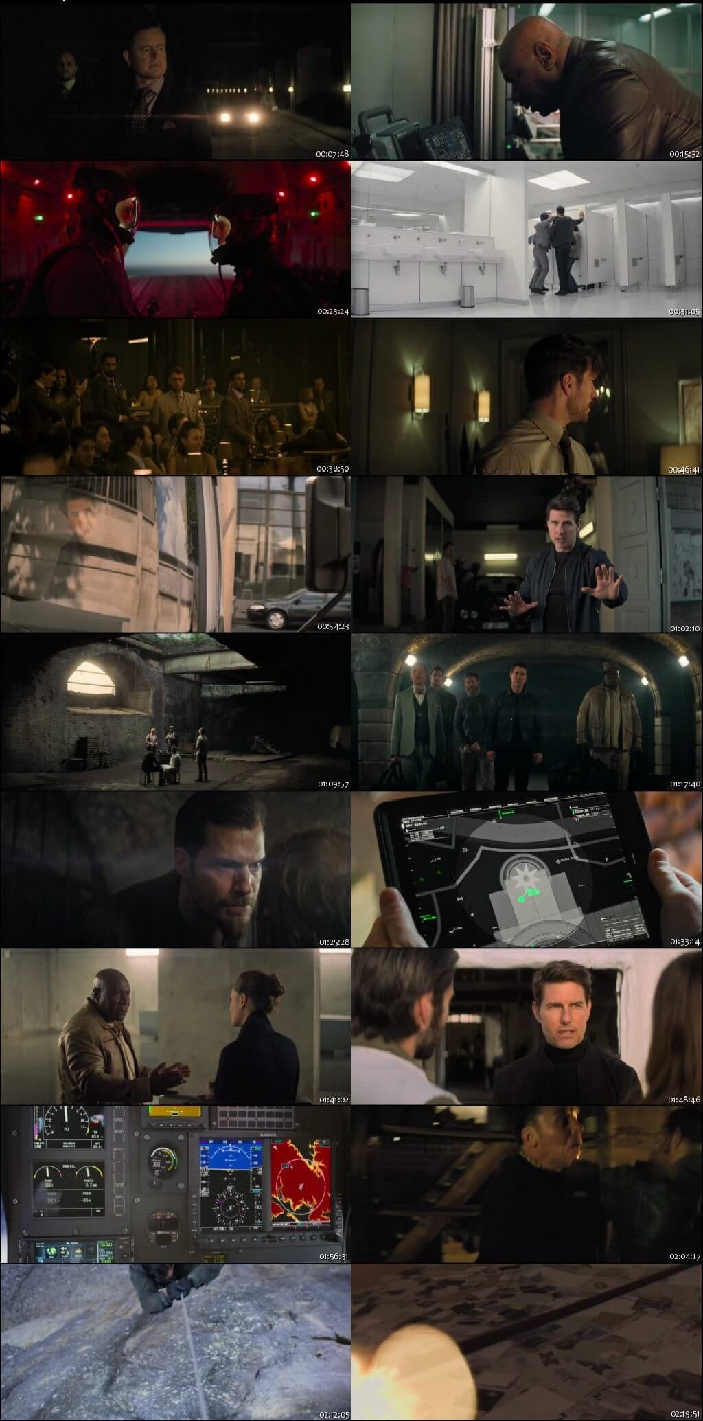 Screen Shot Of Mission: Impossible - Fallout 2018 English Movie Hindi Dubbed Free Download 100MB HEVC For Mobiles
