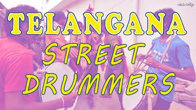 telangana beats,dj nikhil martyn,street drummers
