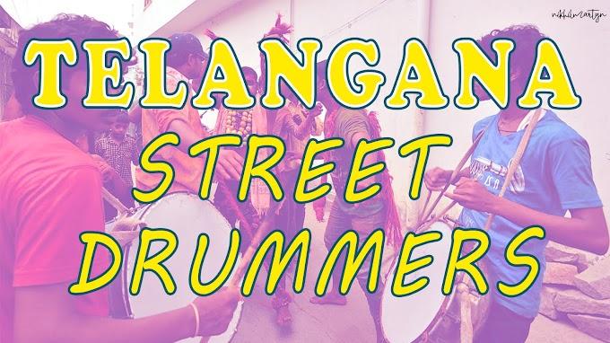 Telangana Street Drummers | Dj Nikhil Martyn