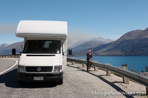 Alquilar una caravana en Nueva Zelanda