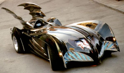 diseño de auto de batman customizado