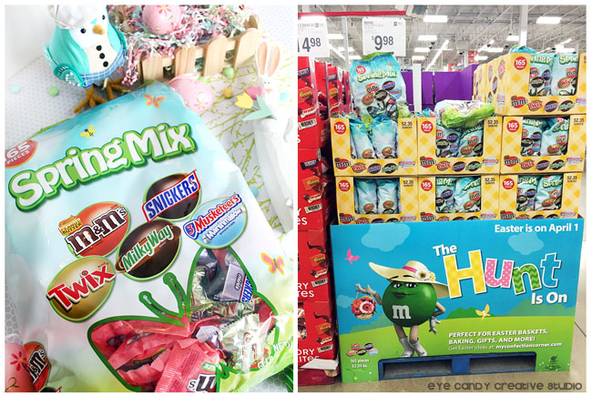 Spring Mixed Minis, spring moments, sam's club, easter baskets