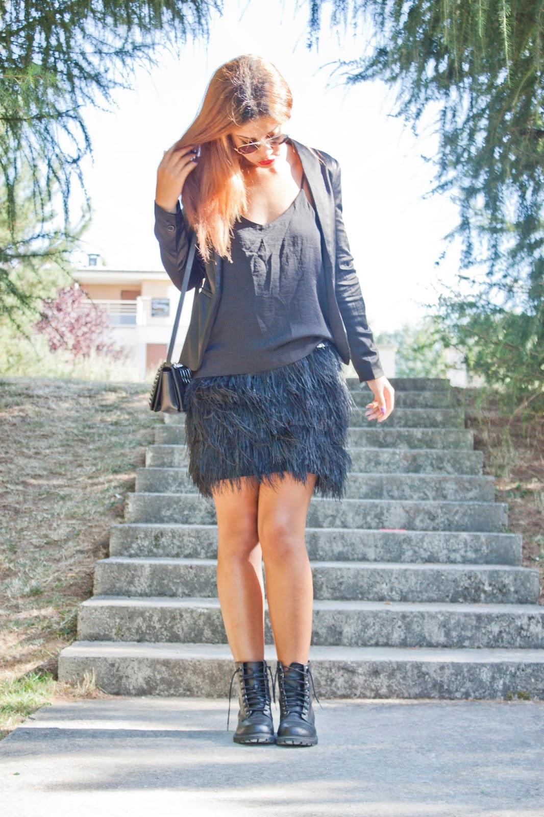 Comment faire une jupe de plumes