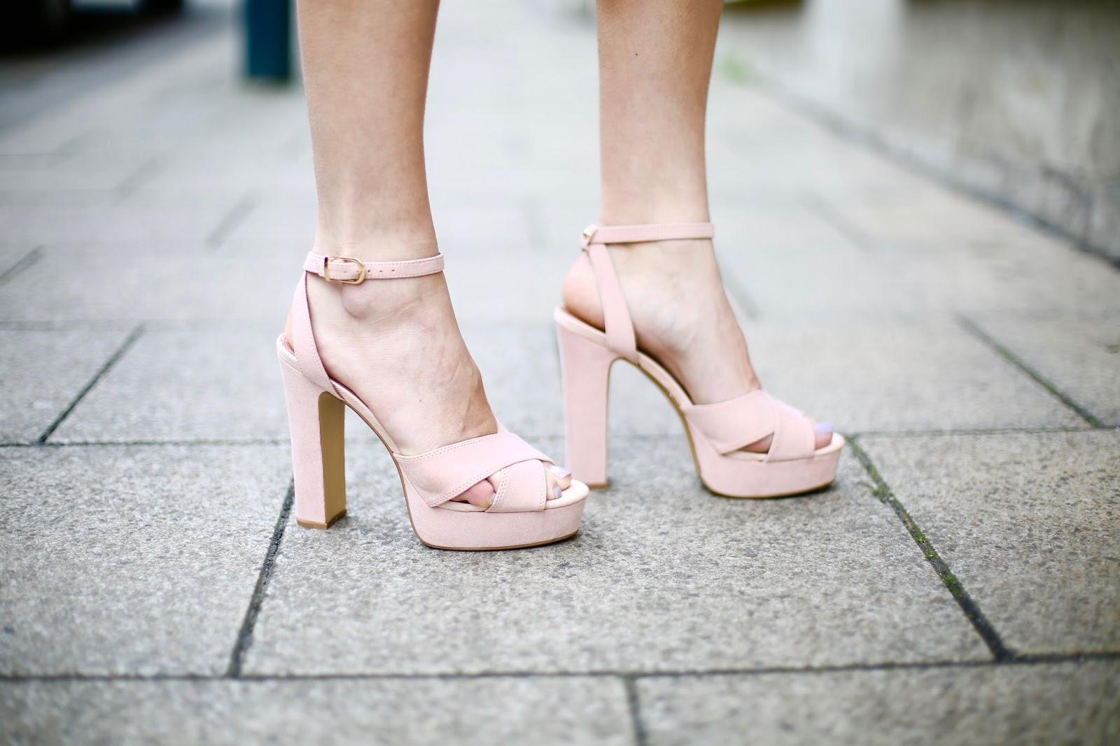 topshop nude heels