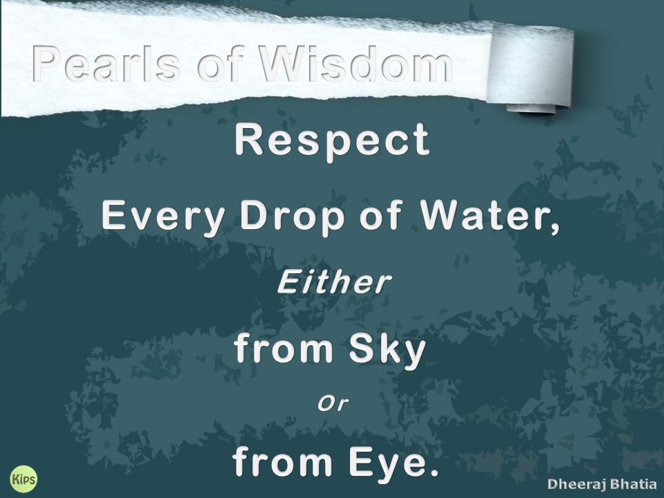 Pearls of Wisdom