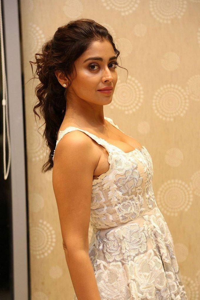 Actress Shriya Saran Hot at Paisa Vasool Movie Audio Success Meet