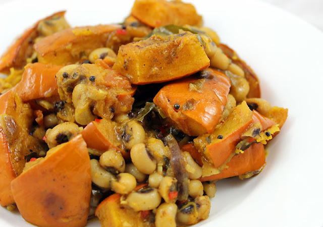 Pumpkin Bean Curry