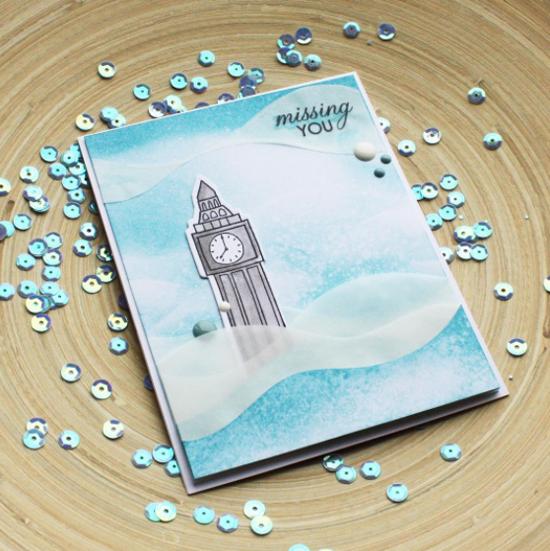 London Mouse stamp set - Anastasia Kosyanova #mftstamps