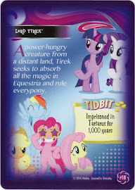 My Little Pony Lord Tirek Equestrian Friends Trading Card