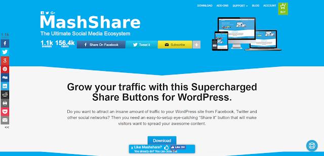 MashShare Sharing Buttons