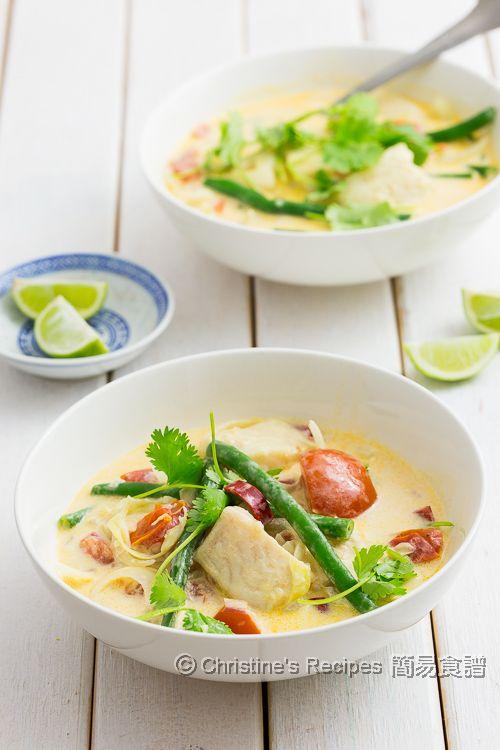 椰汁煮魚 Fish in Coconut Soup01