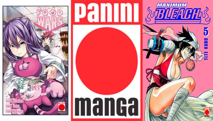 Novedades Panini Comics marzo 2019: Shounen (Food Wars y Bleach Maximum)