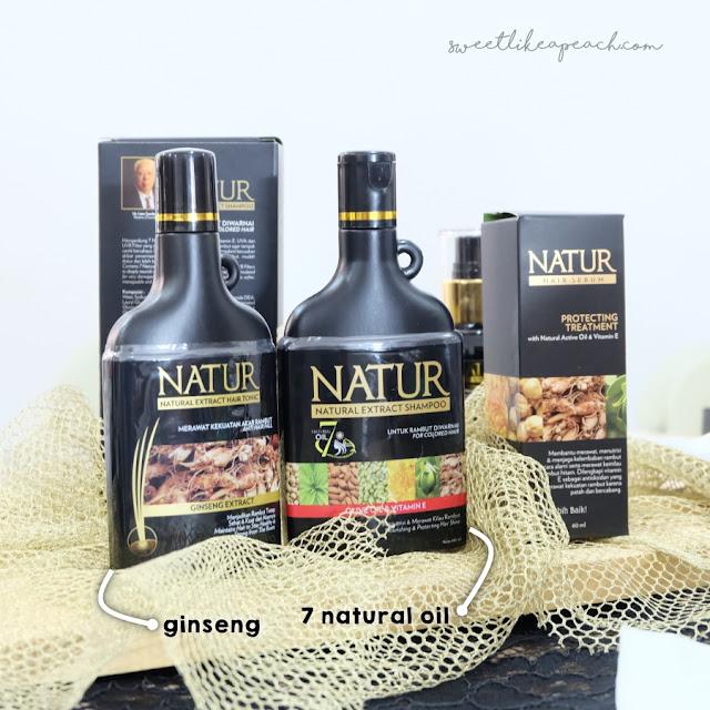 review shampoo natur no sls - untuk rambut rusak diwarnai