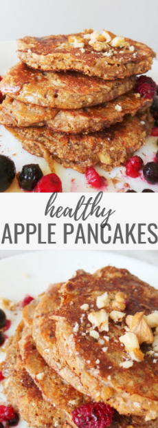Apple Pancakes With Oats
