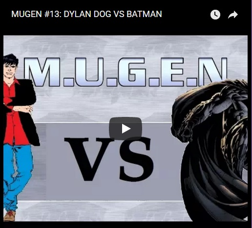 DYLAN DOG VS BATMAN