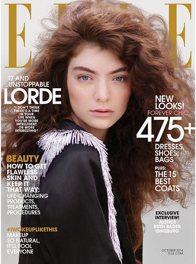 Lorde Elle Magazine cover
