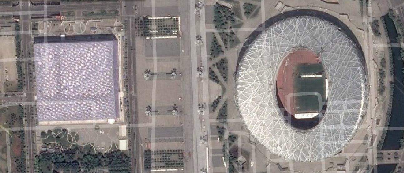 Beijing National Stadium and Water Cube, China
