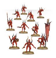 warhammer age of sigmar daemons of khorne bloodletters unit