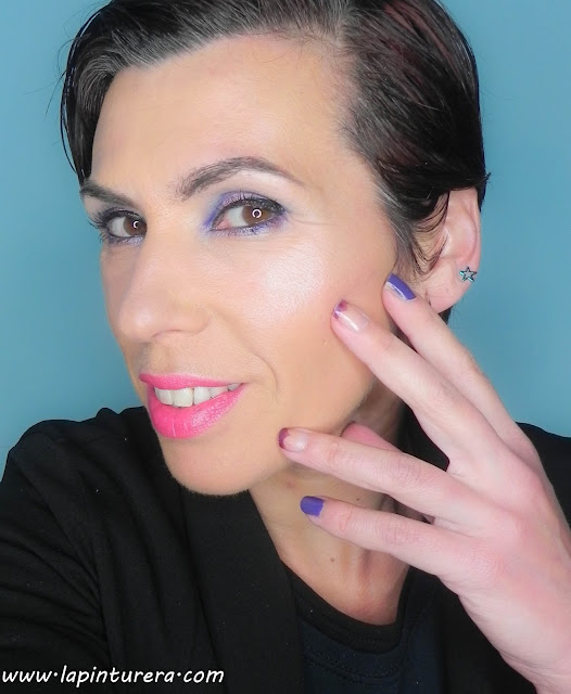 rostro y uñas