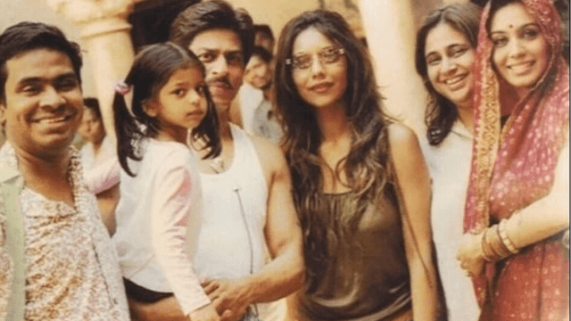 When Gauri-Suhana visited the sets of 'Paheli'