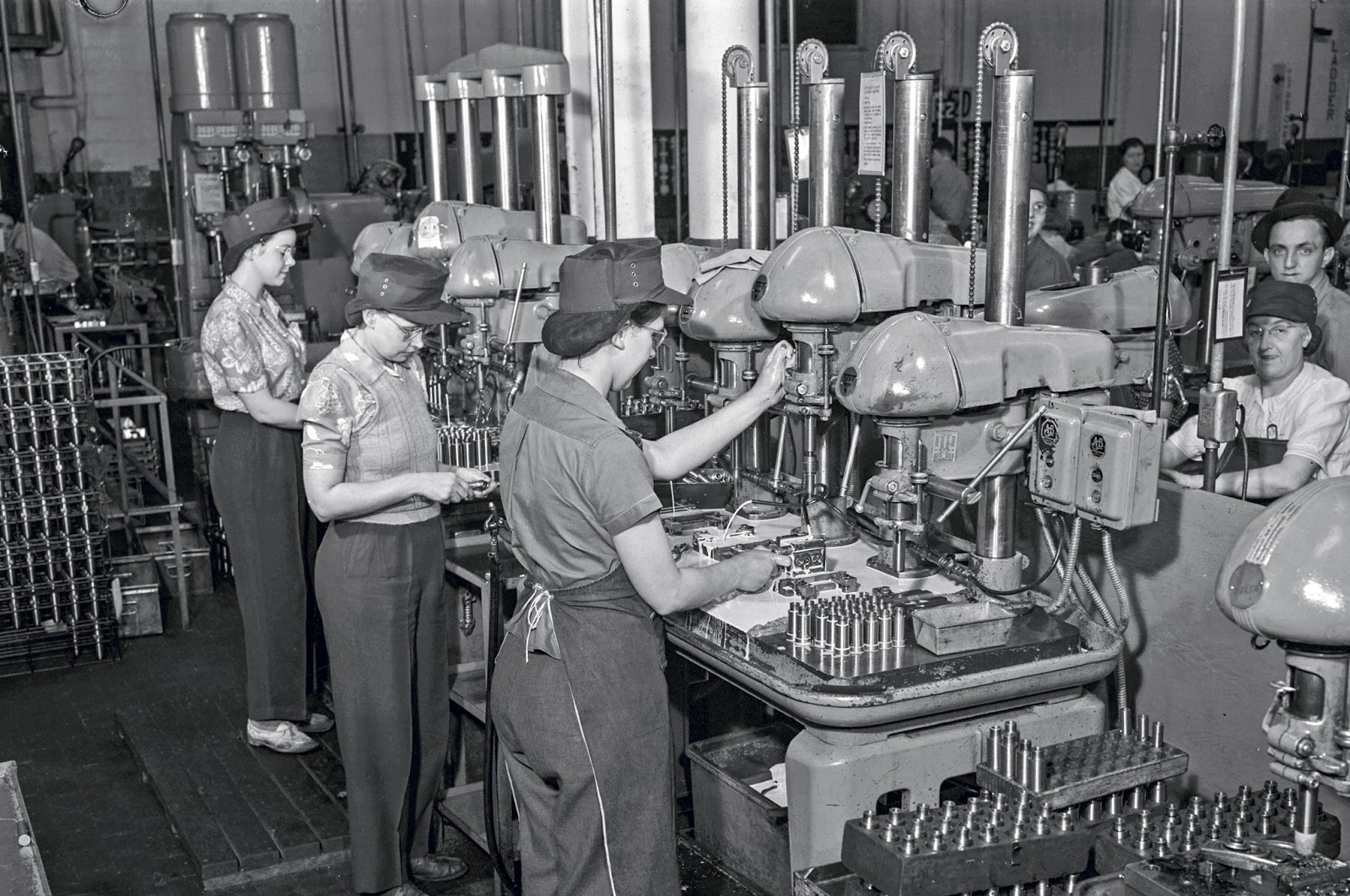 the opportunities for american women during americas entry into world war ii End to isolationism and entry into war during world war ii, american industry during world war ii, even more so than in world war i, women entered the.