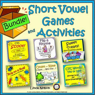 http://www.teacherspayteachers.com/Product/Short-Vowel-Games-and-Activities-Bundle-1553786