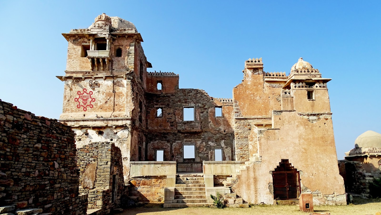 View Of Mirabai Palace Chittogarh