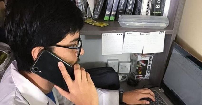 CORONAVIRUS: Convocan a voluntarios para telemonitoreo de pacientes con covid-19