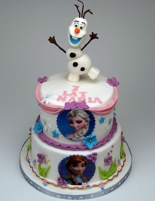 Frozen Birthday Cake London