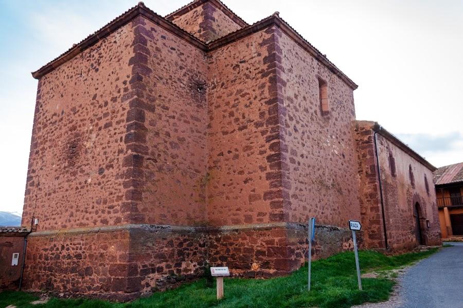 Ruta de los pueblos rojos de Segovia. Madriguera