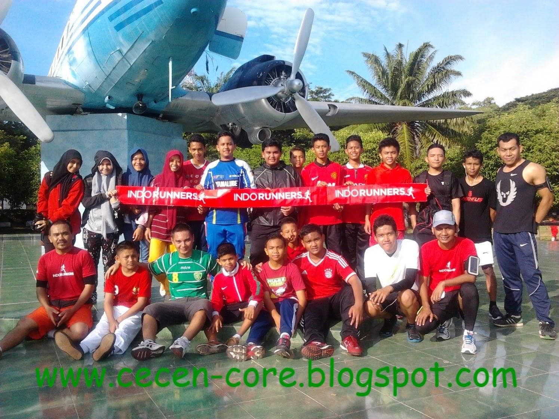Partisipan #iuRun dan Indo Runners Banda Aceh