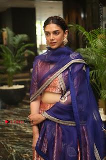 Aditi Rao Hydari Stills in Lehenga Choli at Cheliyaa Telugu Movie Audio Launch Event  0026.JPG