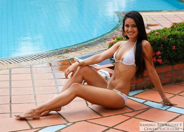 Hot girls Johanna Solano sexy Miss Costa Rica 2