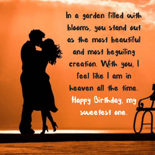 Birthday Wishes For Boyfriend Romantic Quotes