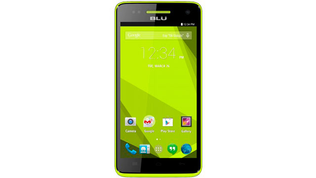 firmware - rom stock BLU Studio 5.0 C HD D535U