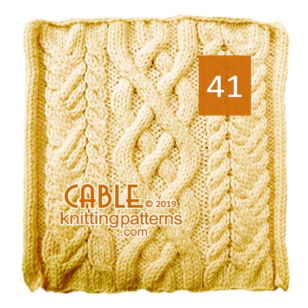 Cable Knitting Pattern 41