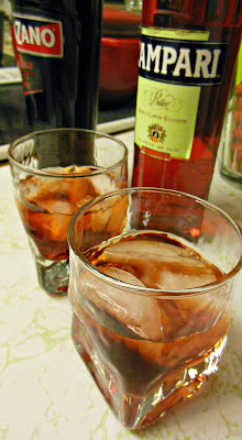 The Negroni, a deeply rich and complex drink.