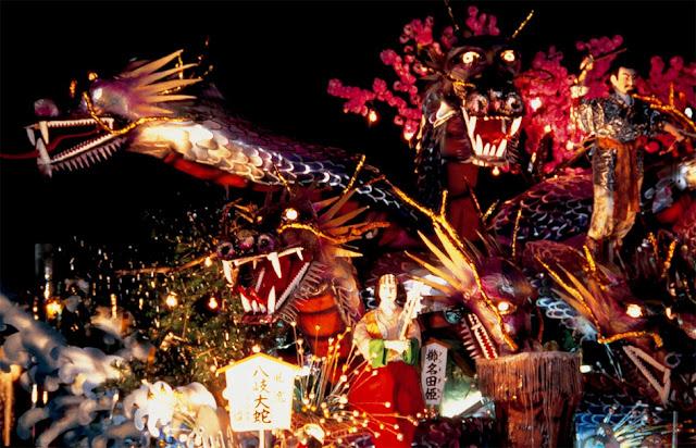 Shinjo Matsuri Festival, Shinjo, Yamagata Pref.