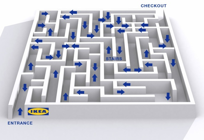 What Is Wrong With Us Seriously Ikea Really Has There Ever Been A Worse Ping Experience Than This Swedish Labyrinth I Mean They Even Serve Cheese
