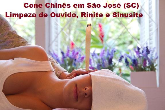 Cone Chinês para Limpeza de Ouvidos, Sinusite, Rinite, Otites, Zumbidos, Tonturas e Diminuição da Audição