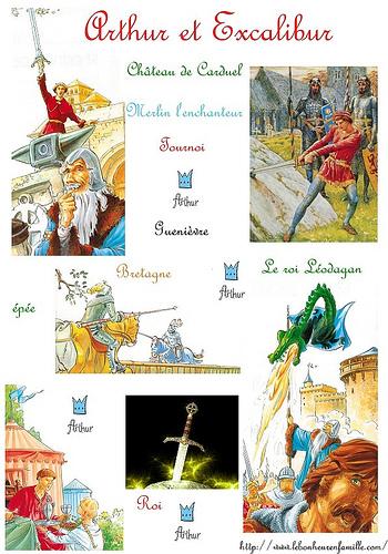 Le bonheur en famille tous nos pdf construction - La table ronde du roi arthur ...