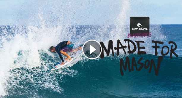 Mason Ho Made For Waves 2019 Hawaii to Indo Mirage Haze Boardshort