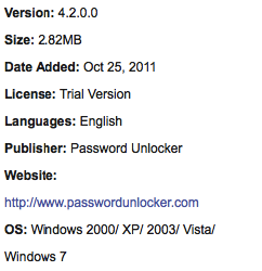 RAR Password Unlocker For Windows Free Download