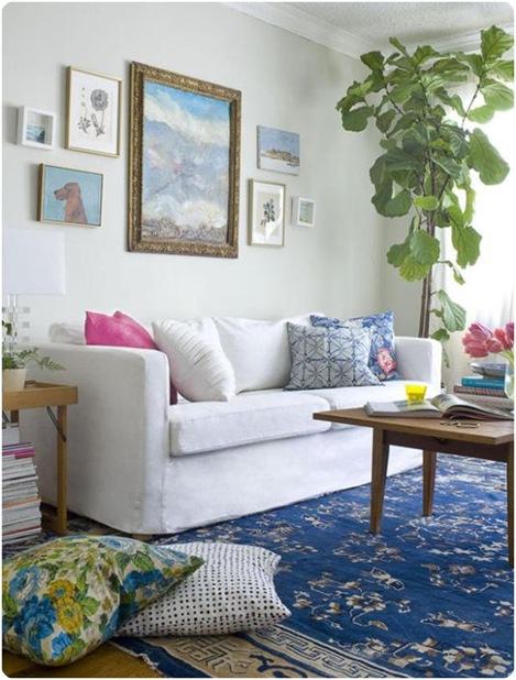 Emily Henderson Living Room Tree